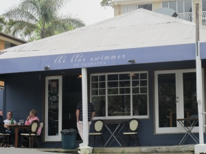 blue swimmer cafe
